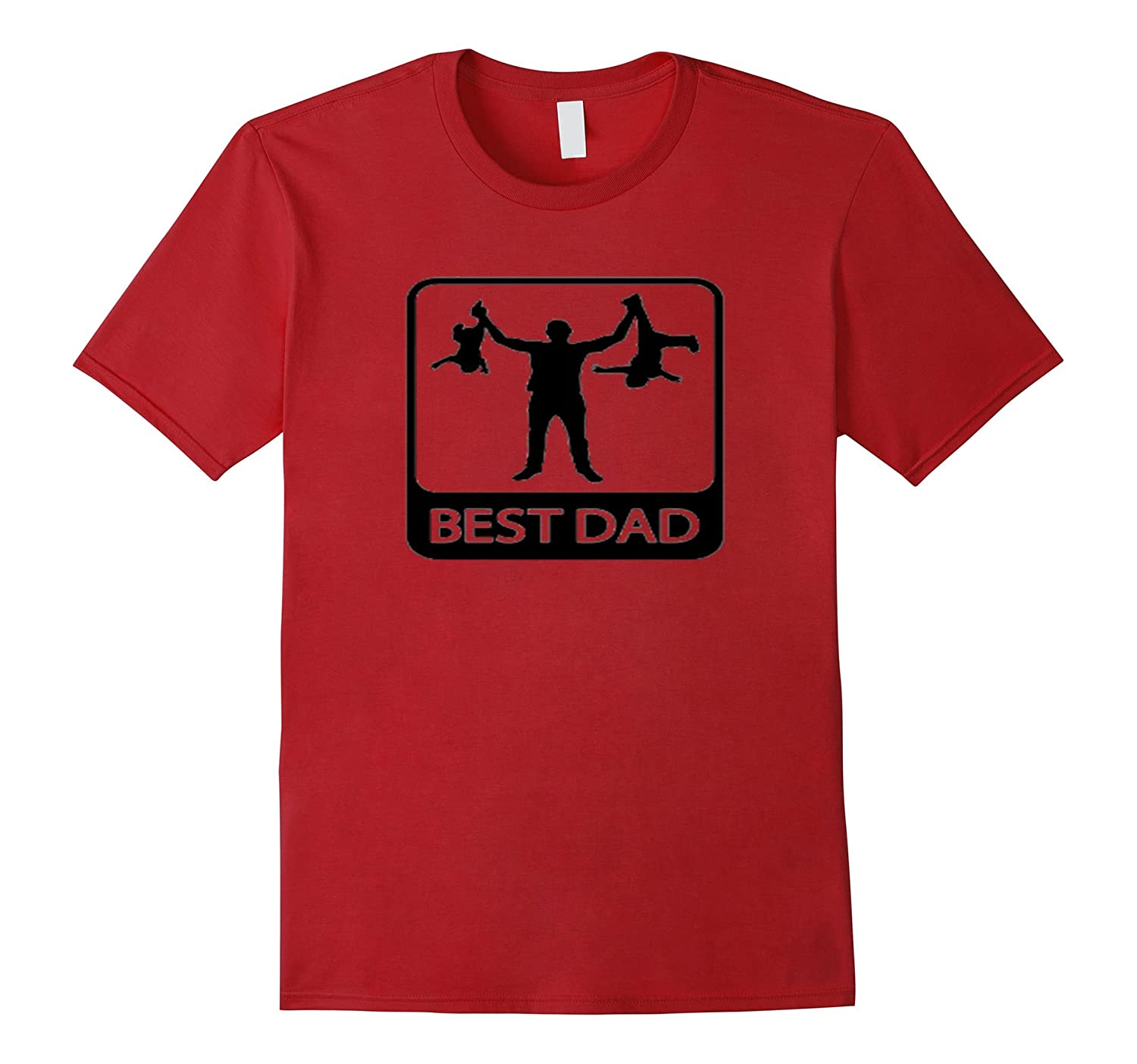 Best Dad T-shirt Gift For Fathers Day Shirt-CD