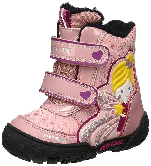 Geox B Gulp B Girl ABX B, Botines de Senderismo para Bebés, Rosa (Dk Pink C8006), 21 EU: Amazon.es: Zapatos y complementos