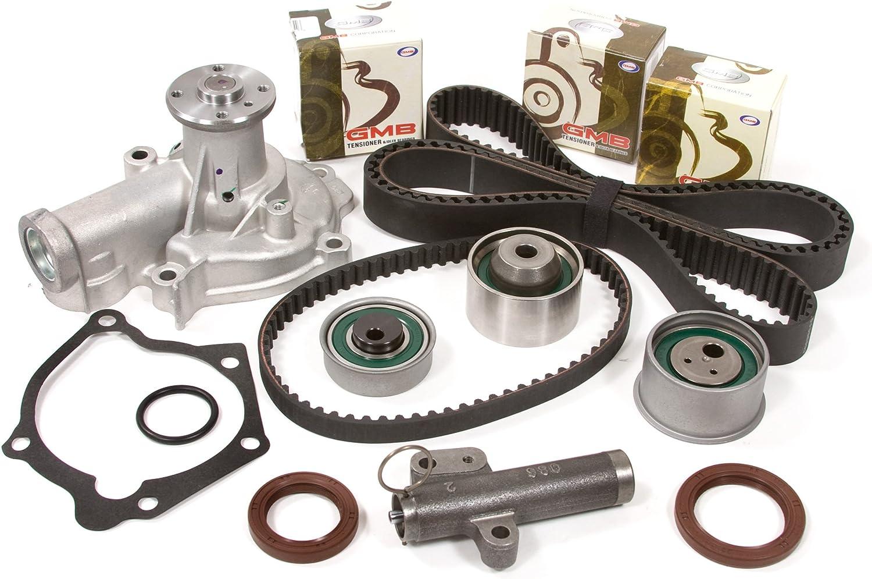 Timing Belt Water Pump Oil Pump Kit for 99-05 Mitsubishi Dodge 2.4L SOHC 4G64