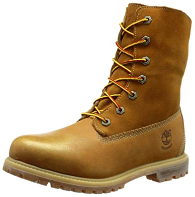 fccd5c704b4 Timberland Women's Teddy Fleece Waterproof Fold-Down Boot