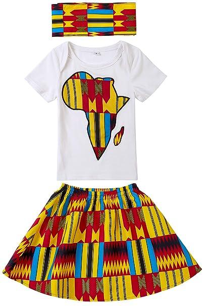 Amazon.com: Shenbolen - Conjunto de falda para bebé con ...