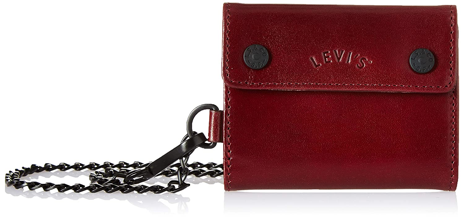 Levi s Dull Red Card Case (Arch Logo Card Case Keychain)  Amazon.in  Bags e8bf2daa4d87
