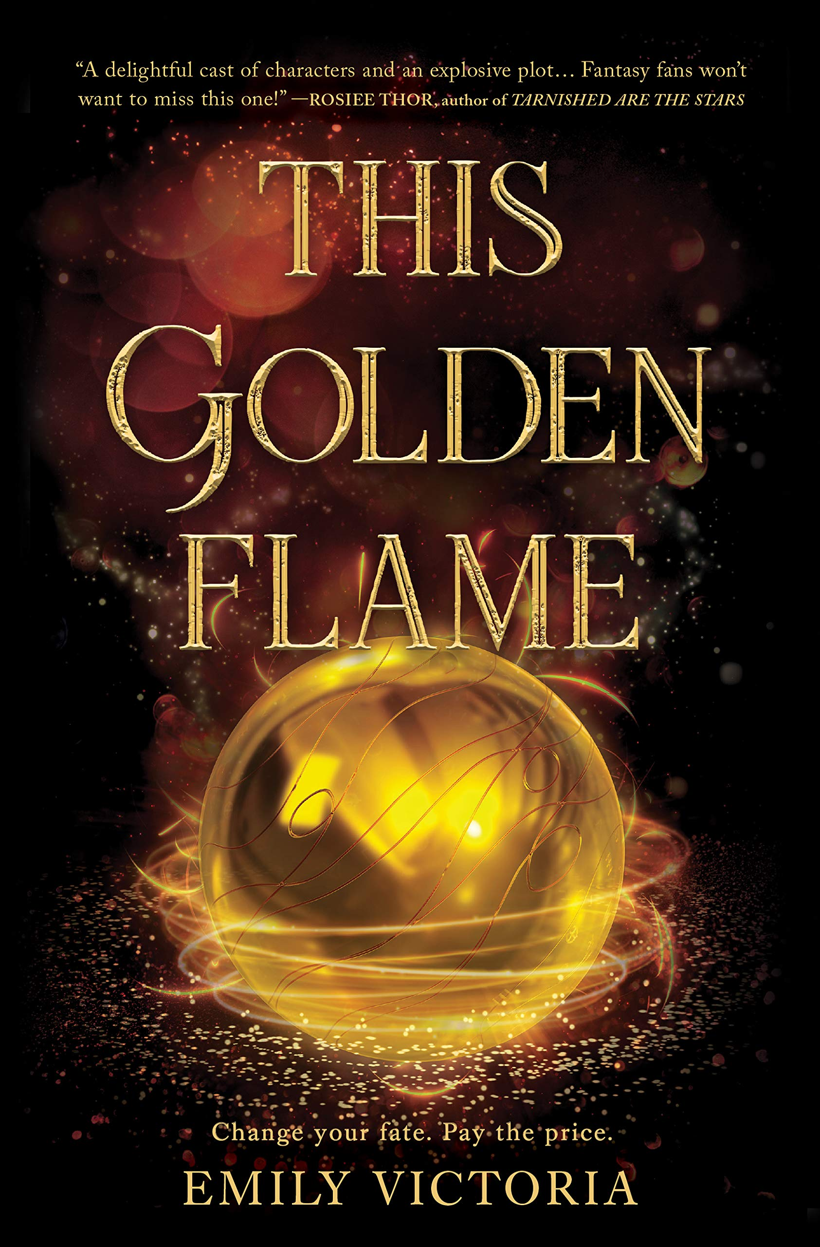Amazon.com: This Golden Flame (9781335080271): Victoria, Emily: Books