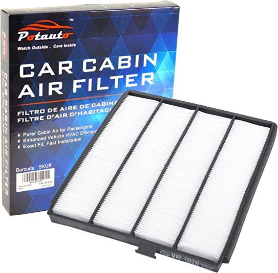 POTAUTO MAP 1032W (CF8813A) Replacement High Performance Car Cabin Air Filter for ACURA