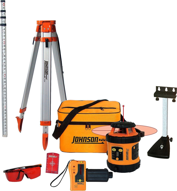 5. Johnson Level & Tool 99-006K Self-Leveling Rotary Laser System Kit