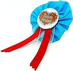 AnneSvea Orden - Team Braut Madl blau Oktoberfest JGA Jungegellinnenabschied Button Geschenk