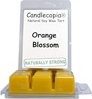 product image for Candlecopia Orange Blossom Strongly Scented Hand Poured Vegan Wax Melts, 12 Scented Wax Cubes, 6.4 Ounces in 2 x 6-Packs