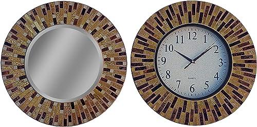 LuLu Decor Modern Wall Clock