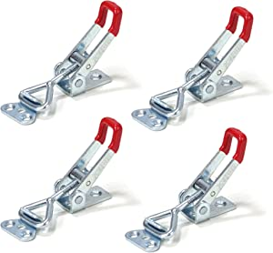 POWERTEC 20311 Pull-Action Latch Toggle Clamp, 220 lbs Capacity, 4001, 4PK