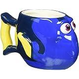 Zak Designs DRYC-8510 Finding Dory Ceramic sculpted Mug, Multicolor