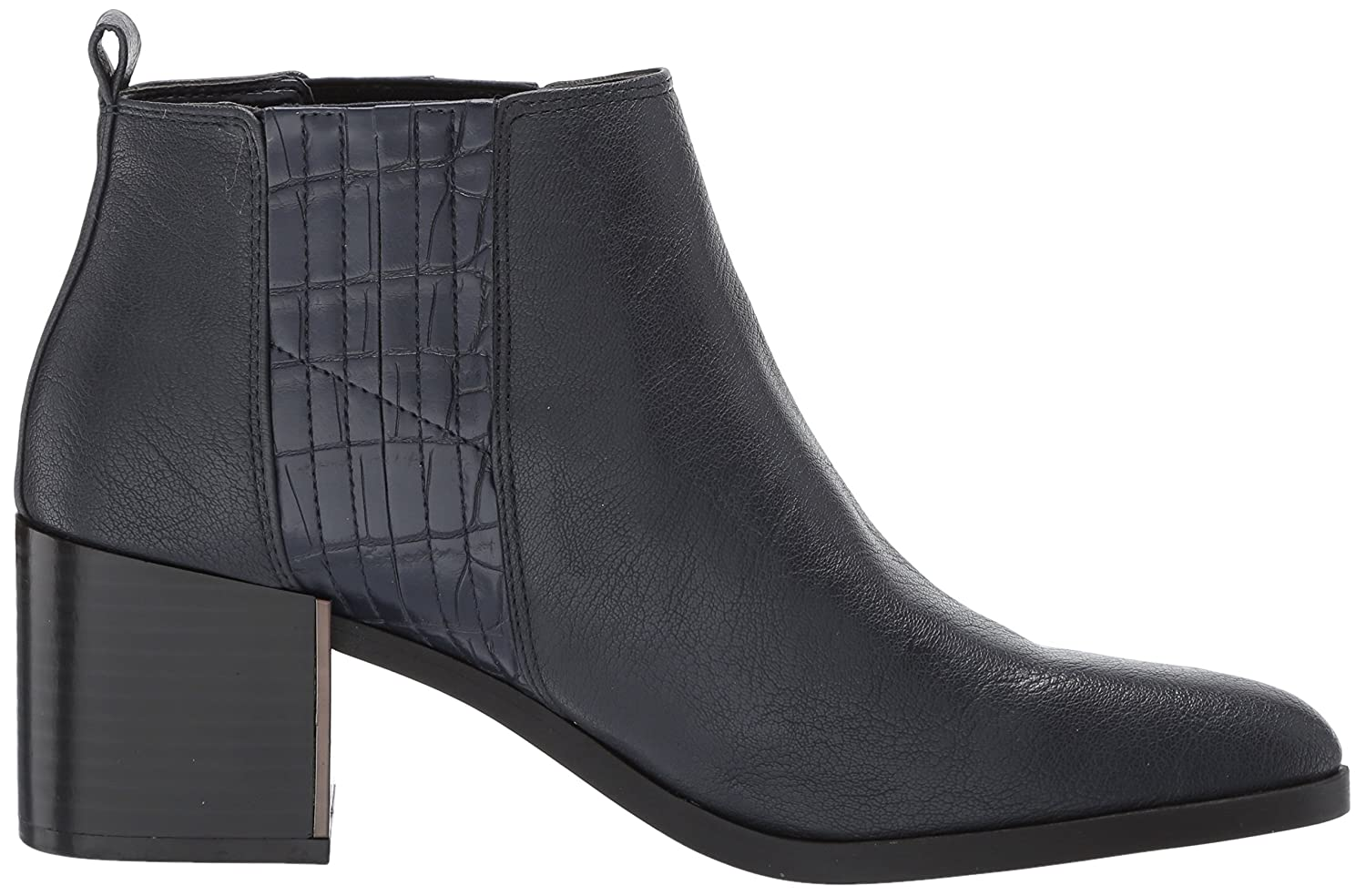 Nine West Women's Walburga Synthetic Ankle Boot B071HV261P 9 B(M) US|Navy/Navy Synthetic