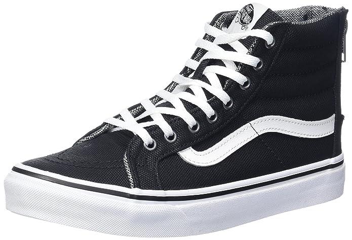 Vans Sk8-Hi High Top Sneaker Damen Herren Kinder Unisex Schwarz