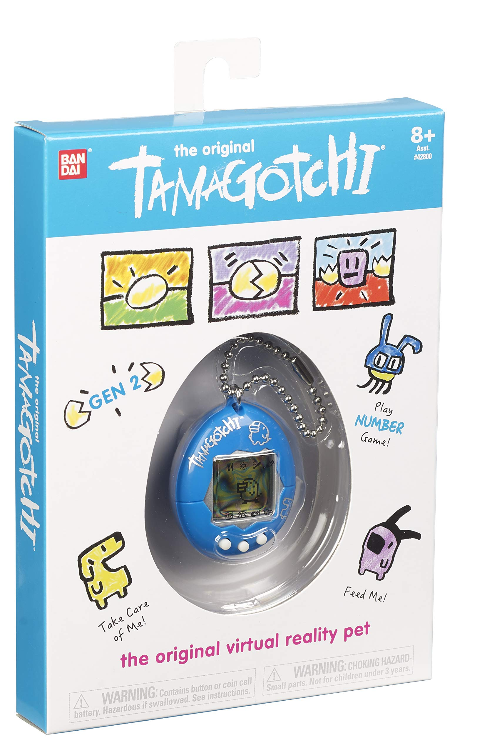 Tamagotchi Electronic Game, Blue/Silver by Tamagotchi (Image #3)