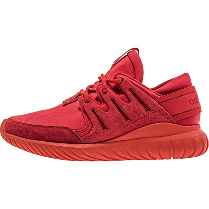100% authentic 17cd2 5583a Amazon.com | adidas Tubular Nova Mens In Red/Red/Black by | Fashion Sneakers