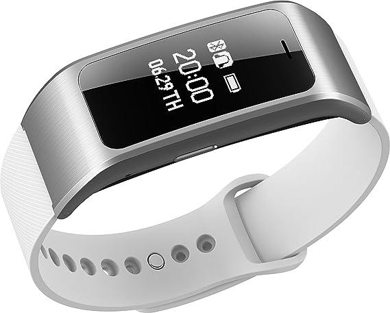 Amazon.com: A96 SmartBand responder llamadas pulsera ...