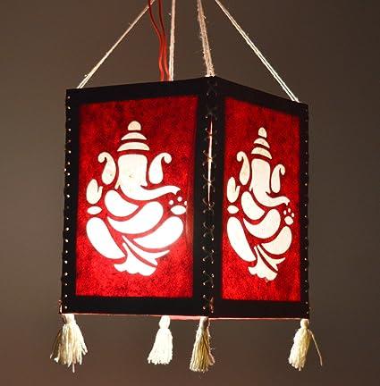 Buy handmade ganesha paper diwali lantern lamp lampshade handmade ganesha paper diwali lantern lamp lampshade akashkandil akashdiya mozeypictures Image collections