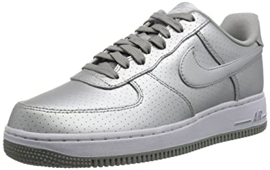 the best attitude 4b51e bbc0a nike air force 1 07 LV8 mens trainers 718152 sneakers shoes (us 8.5,  metallic