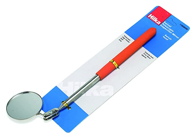 JBM 52468 Espejo de inspecci/ón telesc/ópico articulado