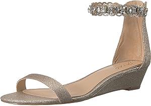 c2a31fe96 Badgley Mischka Jewel Women s Ginger Wedge Sandal