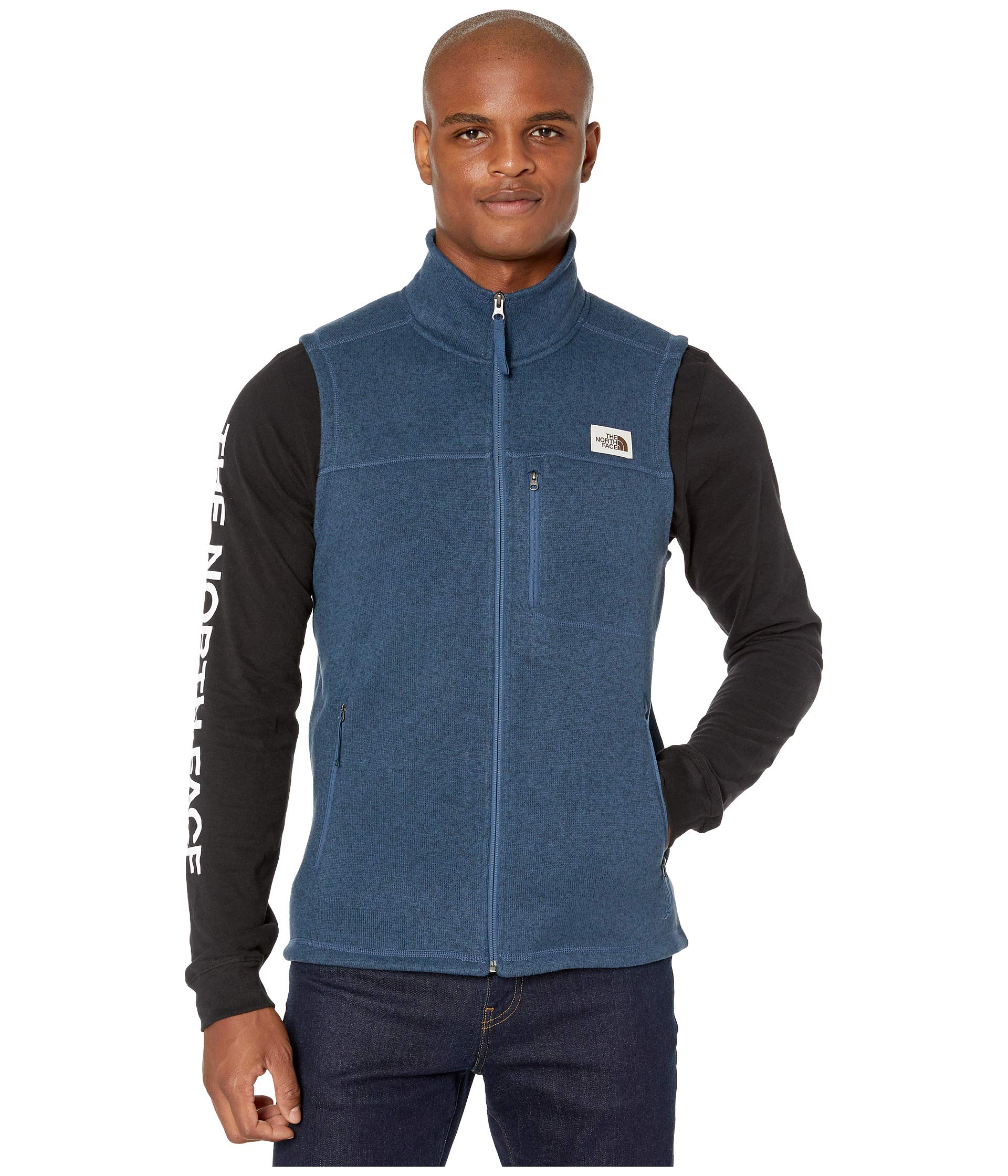 The North Face Men's Gordon Lyons Vest, Shady Blue Heather, XL by The North Face