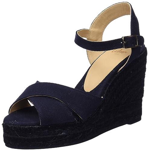 Castañer Blaudell C8Edss18001, Alpargatas para Mujer, Azul (Light Blue 301), 39 EU: Amazon.es: Zapatos y complementos