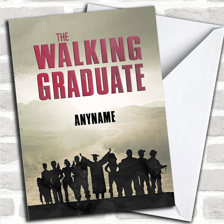 Amazon.com : The Walking Dead Funny Cast Personalized Graduation ...