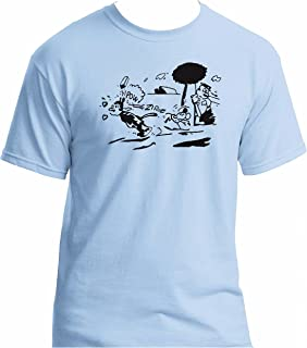 Krazy Kat t-shirt azzurro grande, contattarci per altre dimensioni.