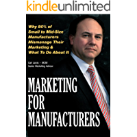 Marketing for Manufacturers  *** Number 1 Book ***