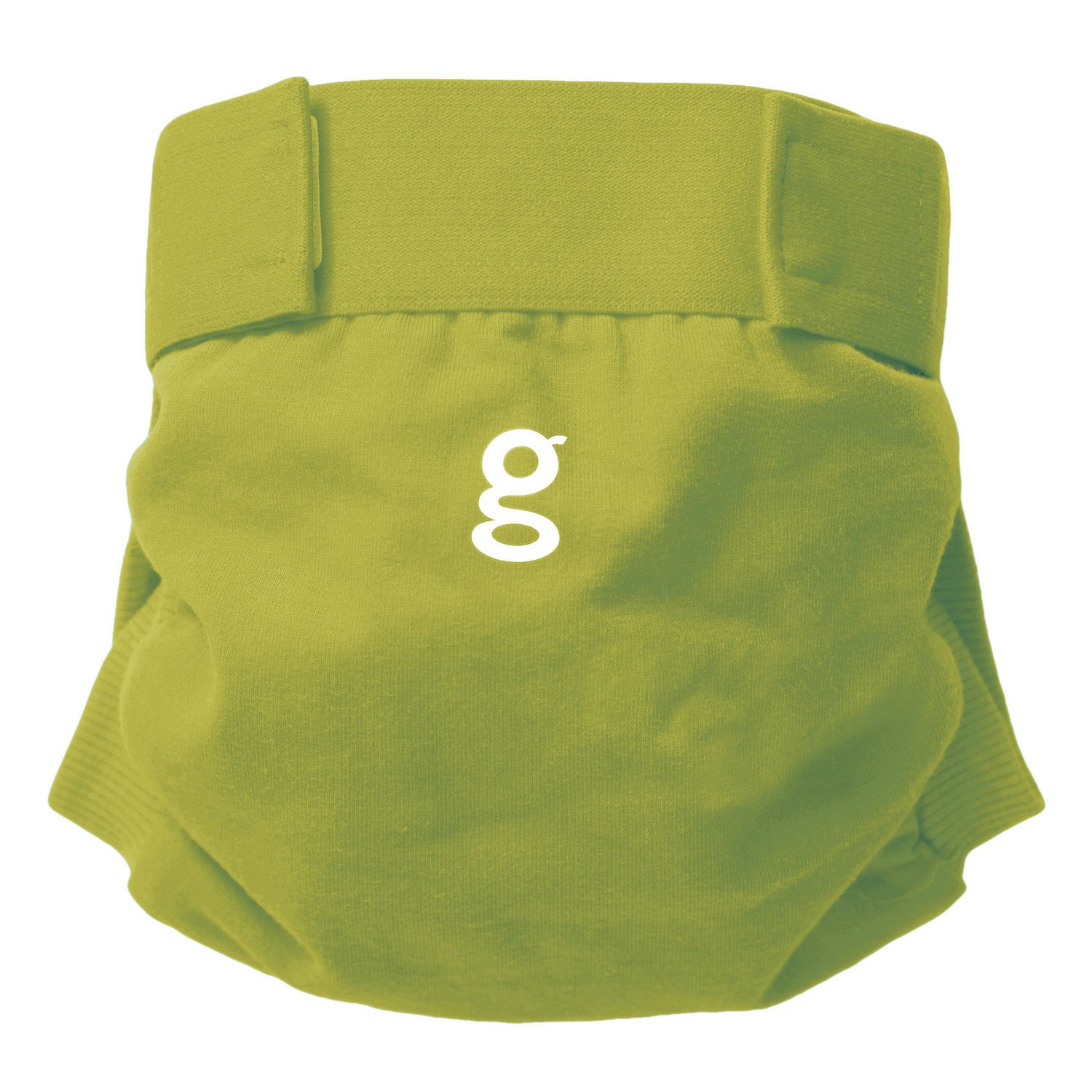 Gnappies Little Gpant Guppy Green, Medium Reuseable Nappies gDiapers 63035
