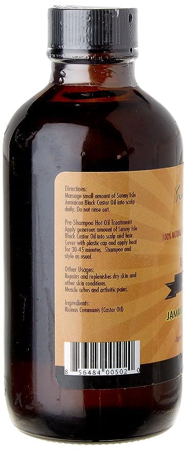 Sunny Isle Jamaican Black Castor Oil Original 100 Pure Castor Beans