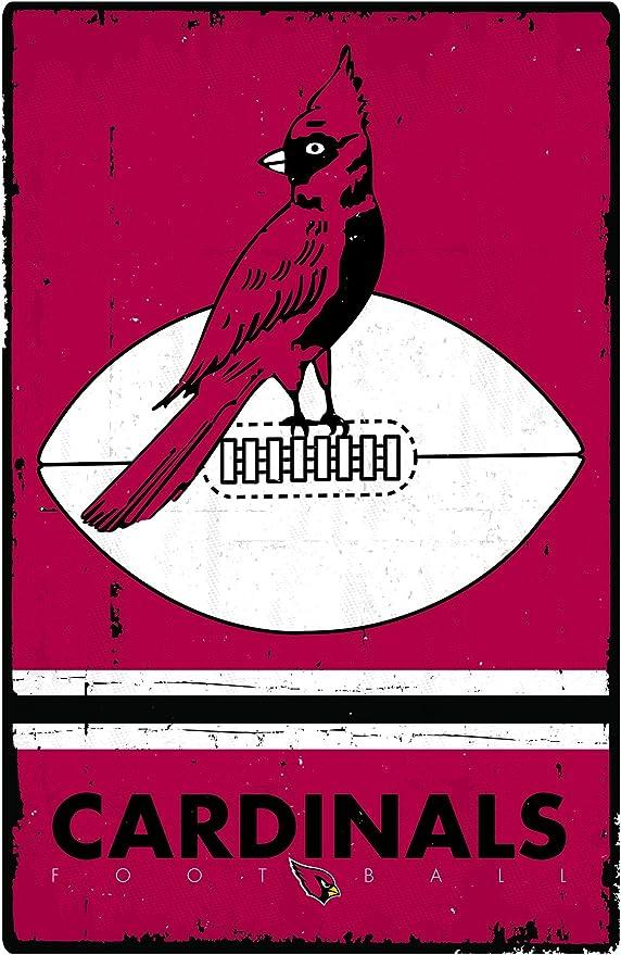 Trends International Arizona Cardinals Helmet Wall Poster 22.375 x 34