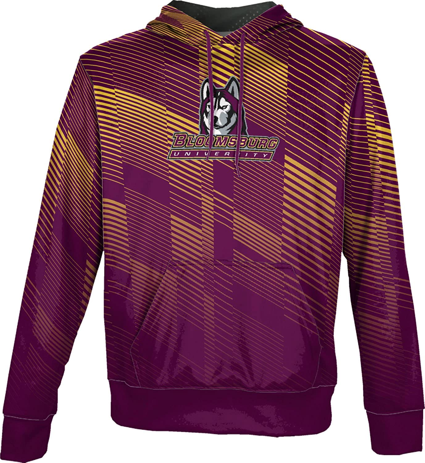 Bold School Spirit Sweatshirt Bloomsburg University Mens Pullover Hoodie