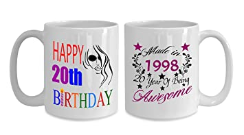 Made In 1998 20 Year Of Being Awesome 15 OZ