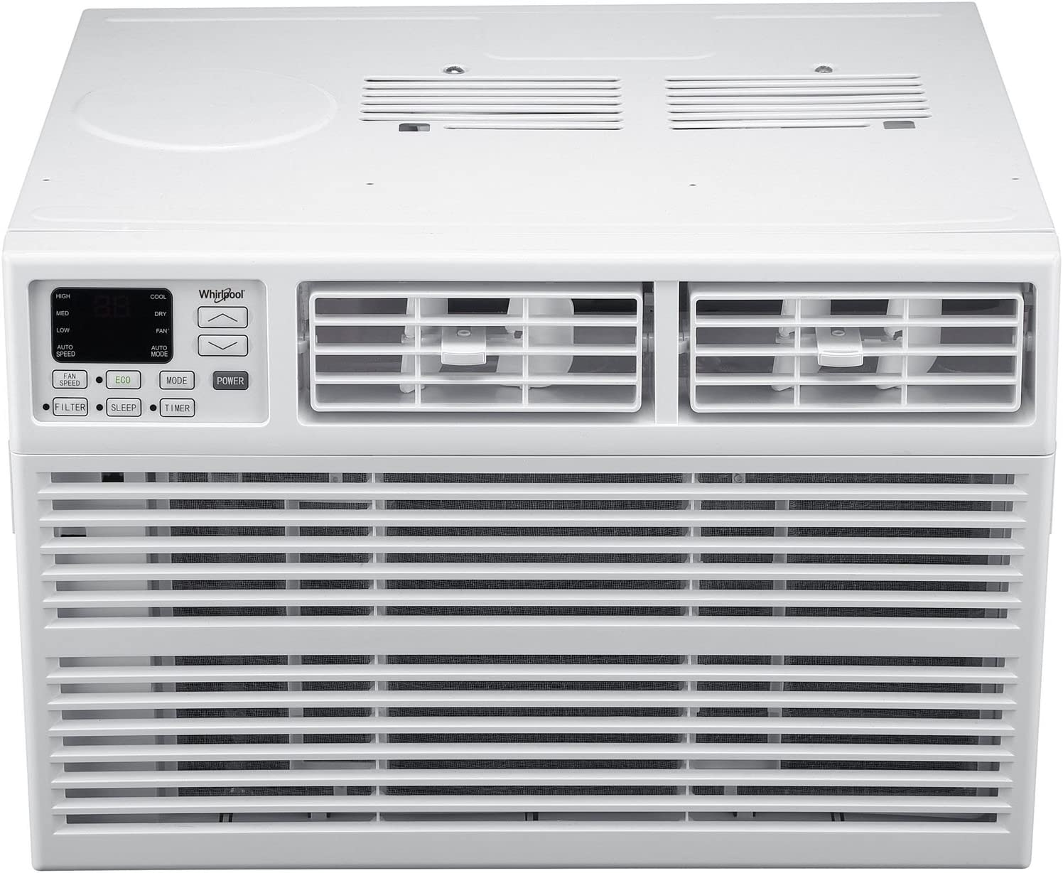 Whirlpool Energy Star 24,000 BTU 230V Window-Mounted Air Conditioner with Remote Control