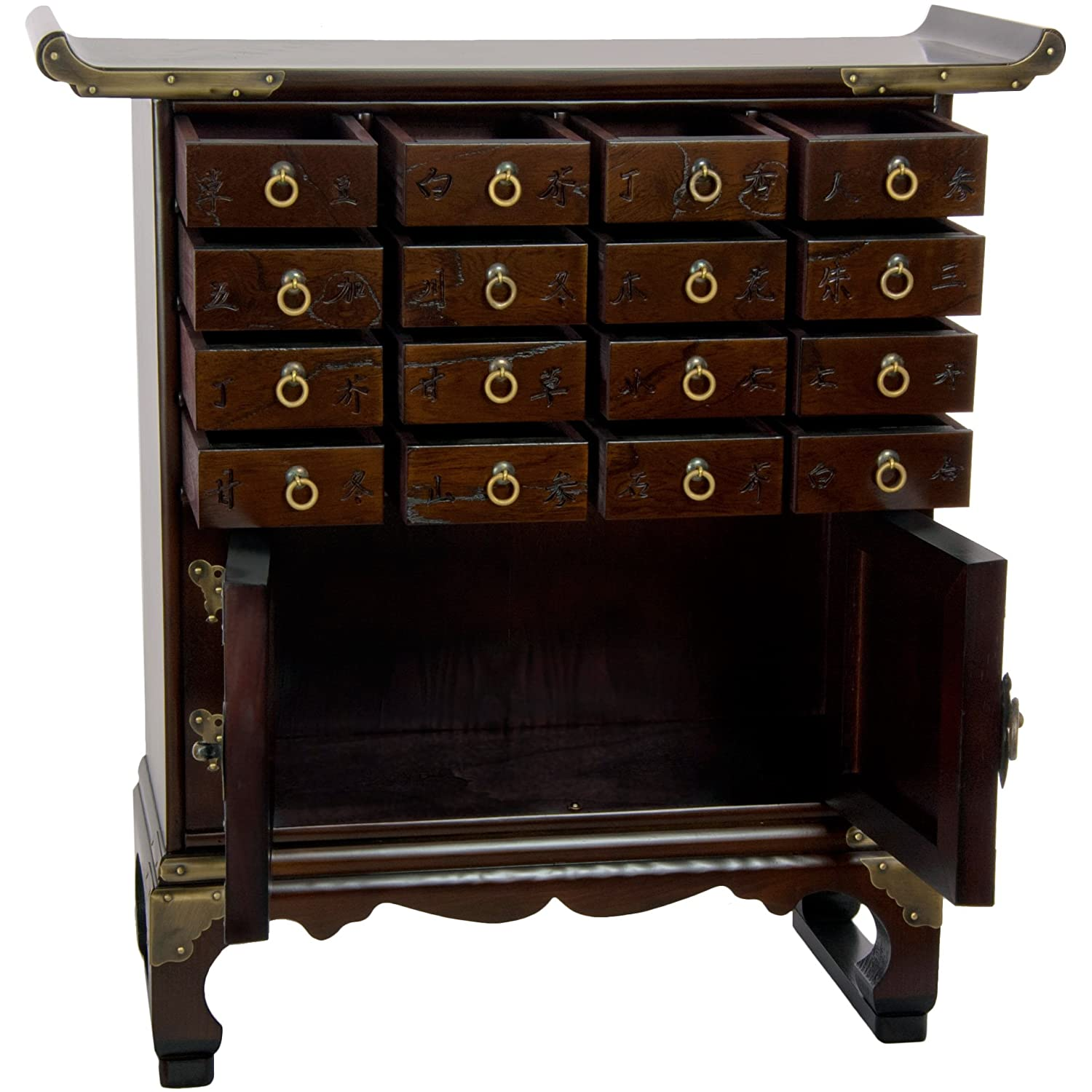Amazon Oriental Furniture Korean Antique Style 16 Drawer