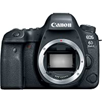 Canon EOS 6D Mark II Body, 26.2 MP, DSLR Camera, Black 1897C002