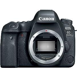 Canon EOS 6D Mark II Digital SLR Camera Body – Wi Fi Enabled