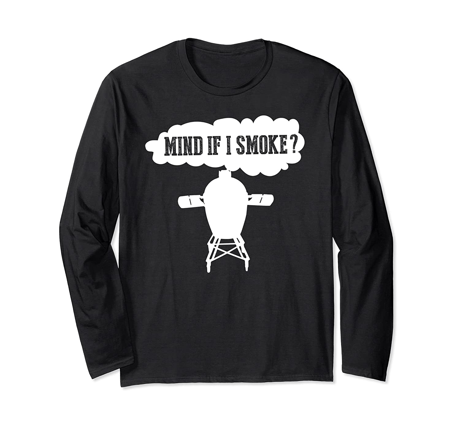 1e359ad68 Funny BBQ Grilling Egg Smoker Gift Long Sleeve T Shirts-alottee gift ...