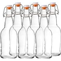 Bellemain resellable tapa, 16onzas botellas juego de 6