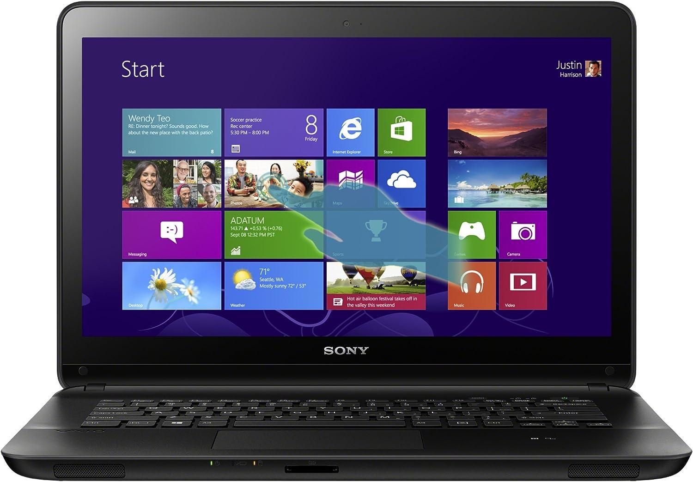 Sony VAIO SVF14325CXB 14-Inch Touchscreen i5 Laptop