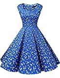 Dresstells Vintage 1950's Audrey Hepburn robe de soirée cocktail, bal style années 50, Rockabilly, Swing