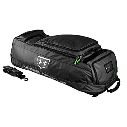 9dd565a11608 Amazon.com  Under Armour Wheel House Deluxe Wheeled Player Bag ...