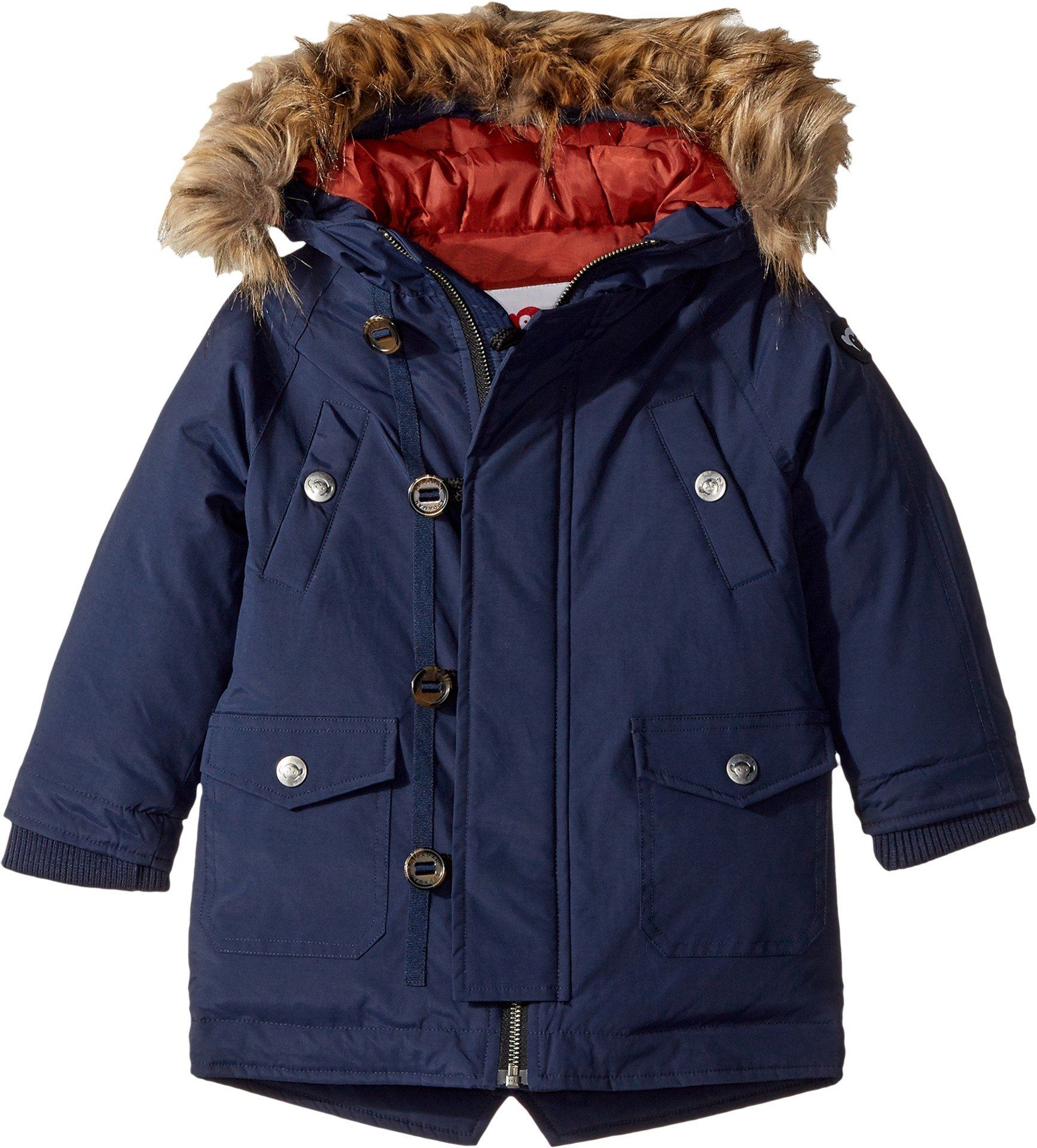 Appaman Little Boys' Morningside Anorak, Peacoat, 5