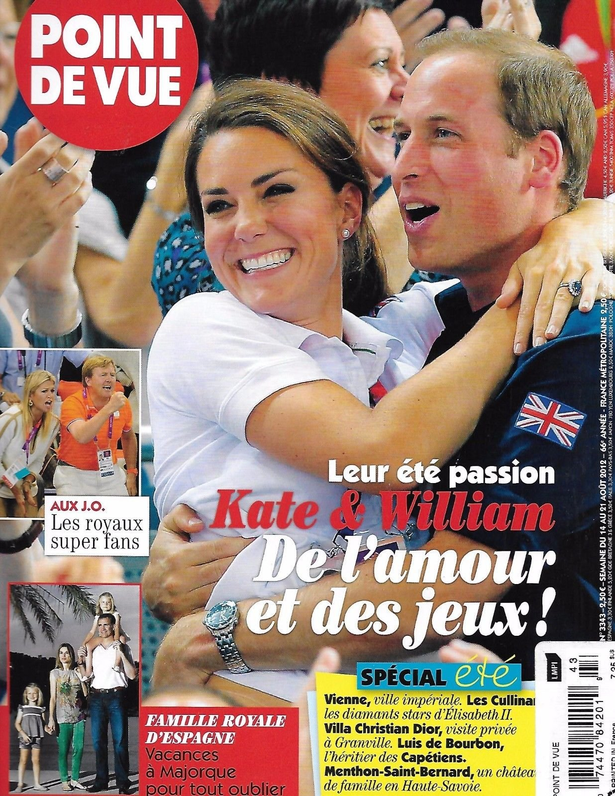 Download Pointe De Vue magazine August 14 2012 Kate Middleton PDF