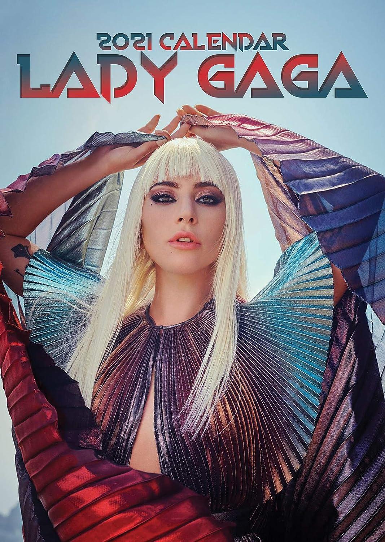 Lady Gaga Calendar 2021 with Lady Gaga Warning Door Sign: Amazon