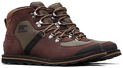 112b9be0732 SOREL Madson Sport Hiker Waterproof Men's Lace-up Boots: Amazon.com ...