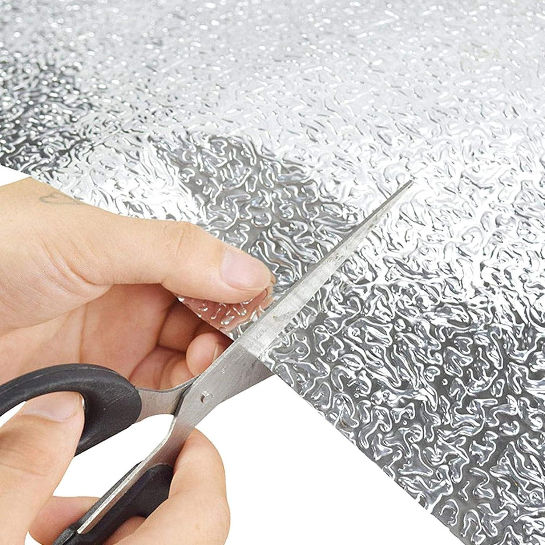 DeoMeat Amovible Anti Greasy Feuille daluminium /étanche Autocollants comptoir b/âton Peel Stickers muraux pour la Cuisine