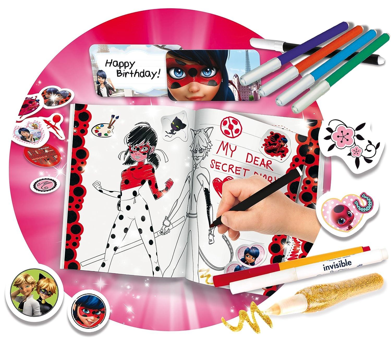 Lisciani Giochi 66032.0 - Ladybug Miraculous il Mio Diario ...