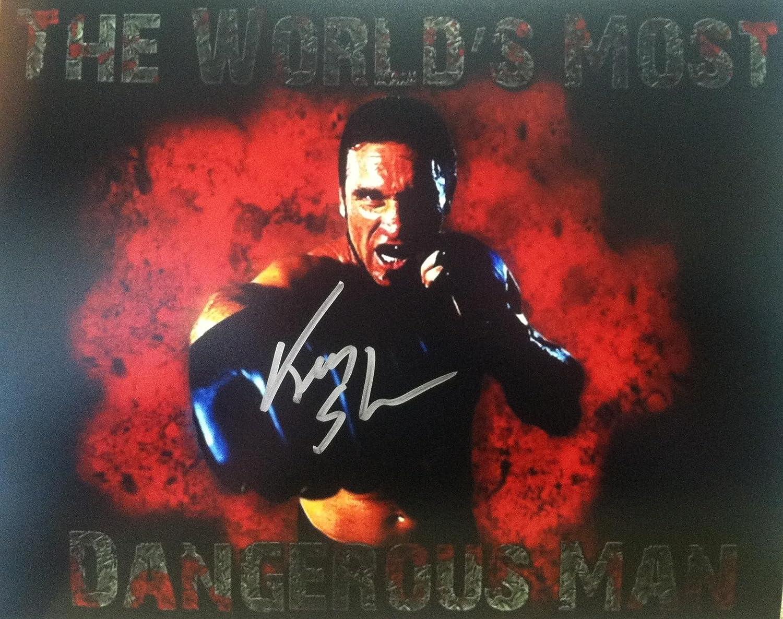 Ken Shamrock UFC Autographed 8x10 Photo Autographed - Autographed UFC Photos Athletic Promotional Events