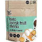 HighKey Monk Fruit, Stevia, Erythritol Sweetener 2:1 Blend – Keto, Diabetic & Paleo Friendly – Granulated, Low Calorie…